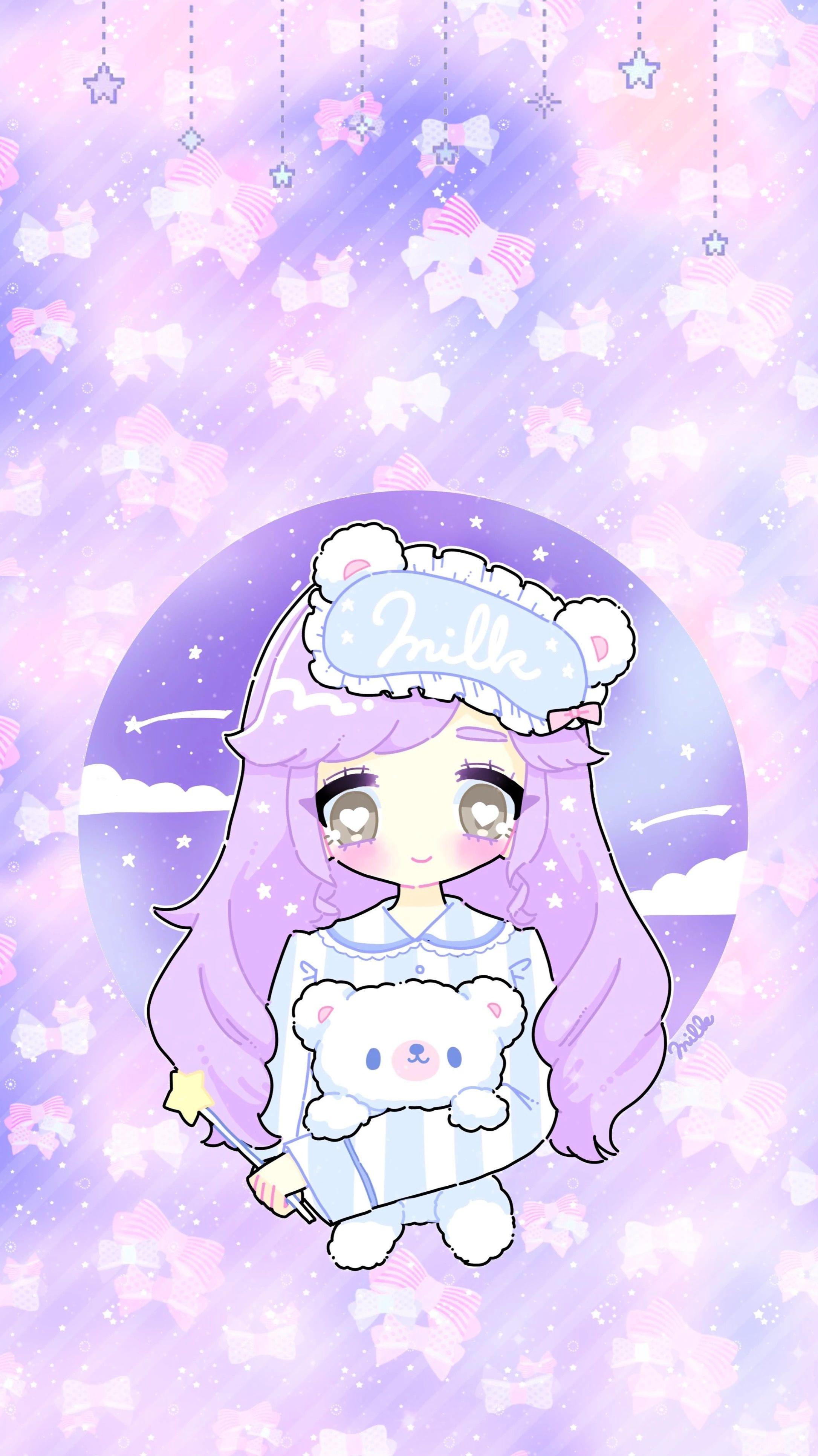 Kawaii Wallpaper Anime : kawaii, wallpaper, anime, ♡Dari, Cartoon, Kawaii, Background,, Wallpaper,, Wallpapers