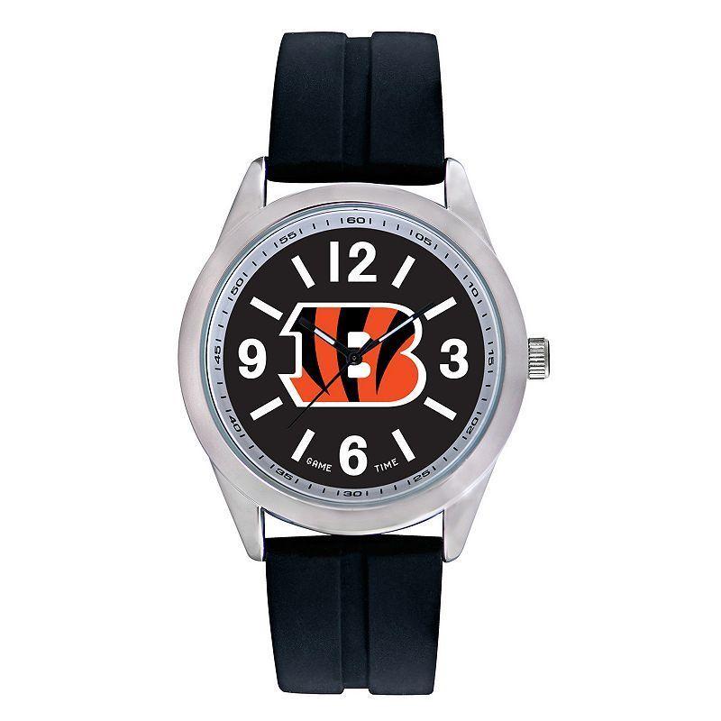 Men's Game Time Cincinnati Bengals Varsity Watch, Black