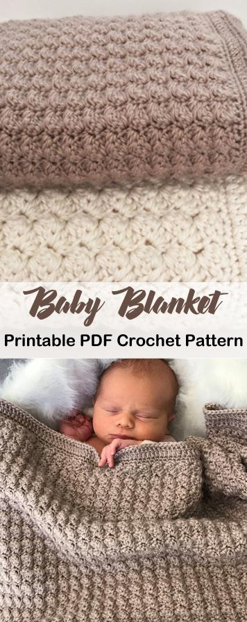 Make an Easy Baby Blanket