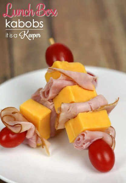 School Lunch Ideas for Kids - 25 Easy Lunch Ideas for School