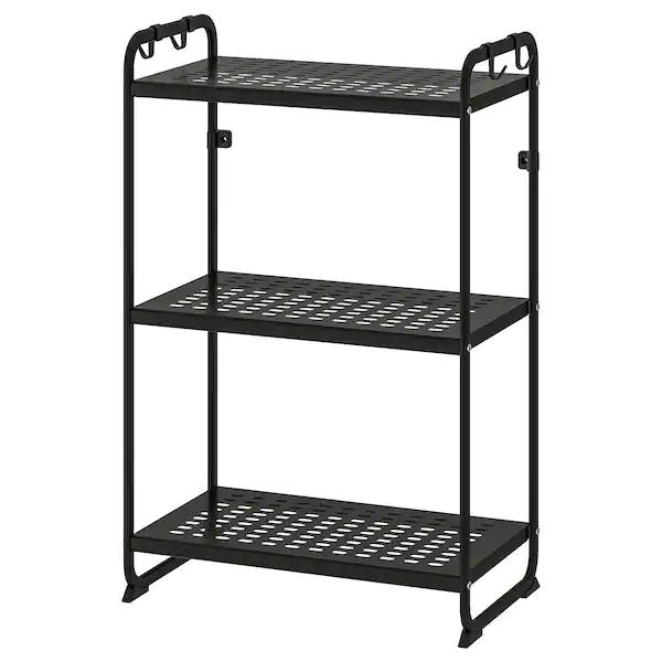 Mulig Shelf Unit Black Ikea Is 23 Wide By 13 5 Deep By 35