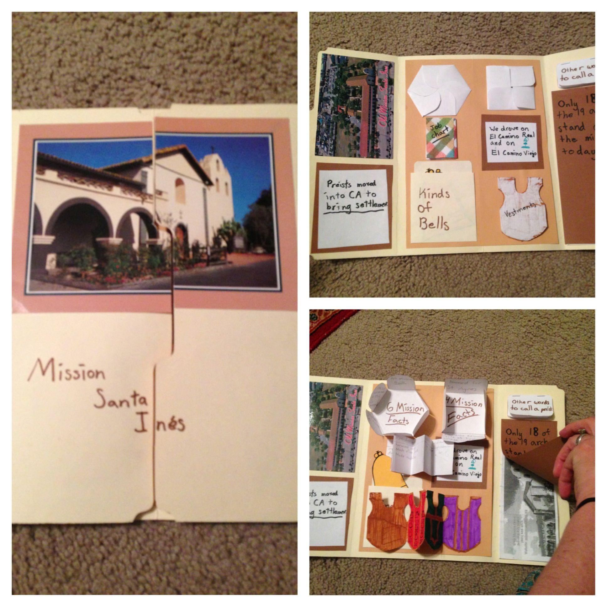 Lapbook 4th Grade Ca Mission