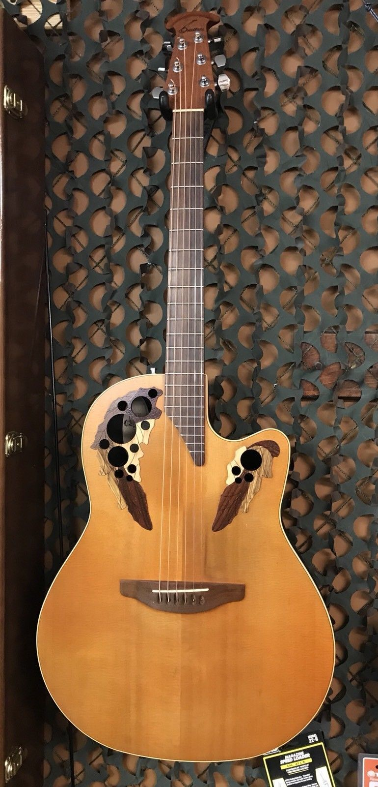 Ovation S778 Elite Special Acoustic Electric Guitar W Original Hard Case Ovation Guitar Guitar Acoustic Electric Guitar