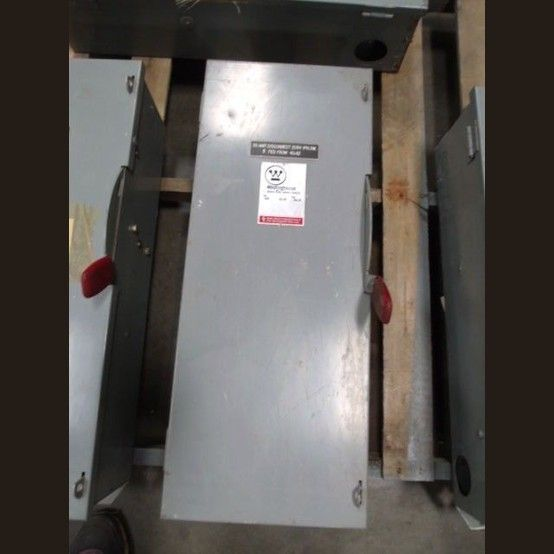 Cat Hun363 Volts 600 Vac Non Fusible Safety Switch View More 100 Amp Disconnects Safety Switch Westinghouse The 100