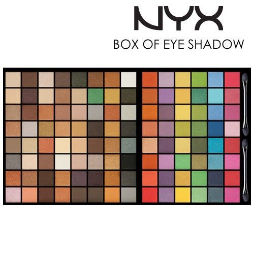 NYX Set Makeup Box of Eye Shadows