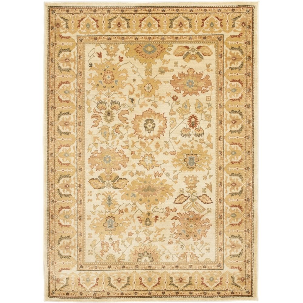 Safavieh Heirloom Cream/ Cream Rug (6'7 x 9'1) - Overstock™ Shopping - Great Deals on Safavieh 5x8 - 6x9 Rugs