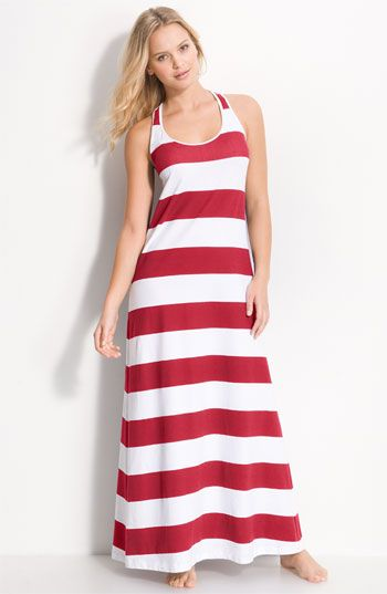Tommy Bahama &39Big Stripe&39 Long Tank Dress Cover-Up available at ...