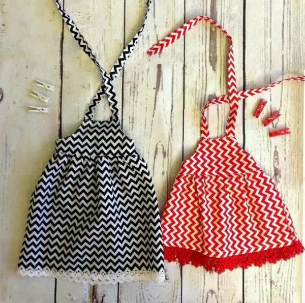 dolls Sewing tutorial Midi or maxi dress for AG dolls