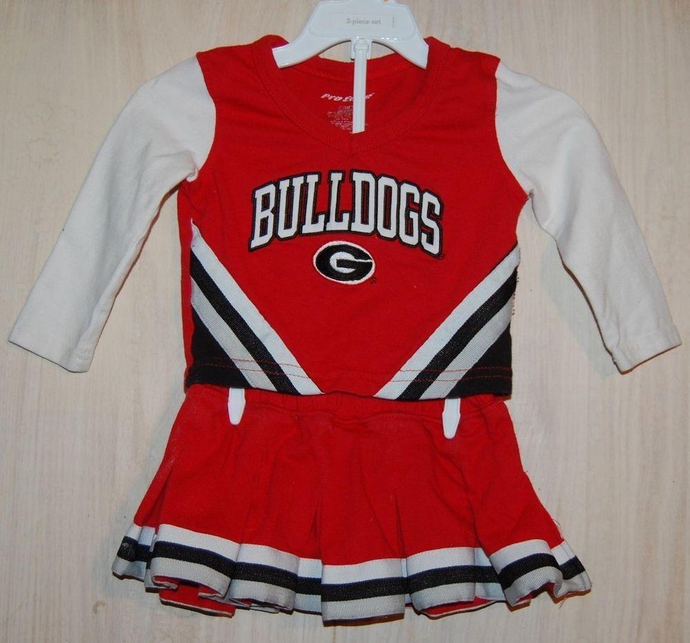 Bulldog costume halloween cheerleader ga college