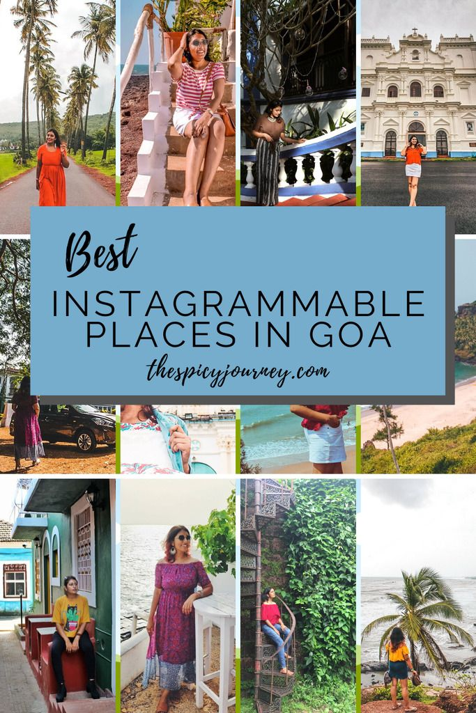 13 Best Instagrammable Places in Goa - The Spicy Journey