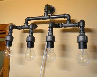 Applique tube industrial light de vanité lumière salle de bain