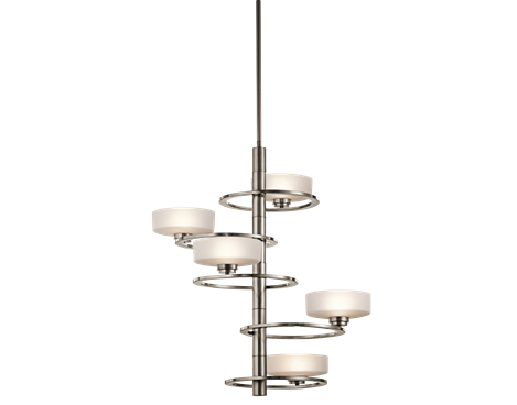 5 light foyer chandelier halogen aleeka collection kichler lighting pendant ceiling