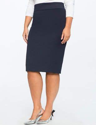 2d61ba25a75a3 ELOQUII Neoprene Pencil Skirt