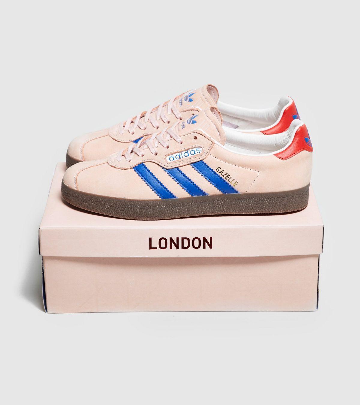 75ab9910de adidas Originals London to Manchester Gazelle Super size  Exclusive ...