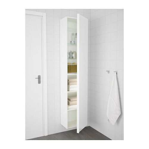 GODMORGON Hoge kast - hoogglans wit - IKEA - Furniture | Pinterest ...