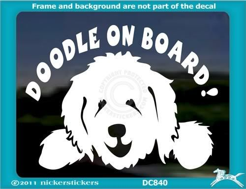 555ae2ebfd804 I need a goldendoodle window sticker for my car! | Goldendoodles ...