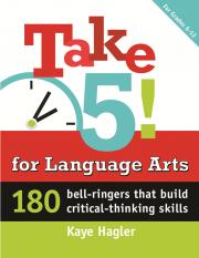 Creativity, Common Core, Language Arts, Bell Ringers