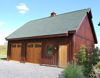 Board And Batten Garage Farmhouse Sheds House Roof Barn House