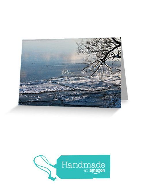 Crystalline lake holiday greeting card 4x6 or 5x75 peace crystalline lake holiday greeting card 4x6 or 5x75 peace m4hsunfo