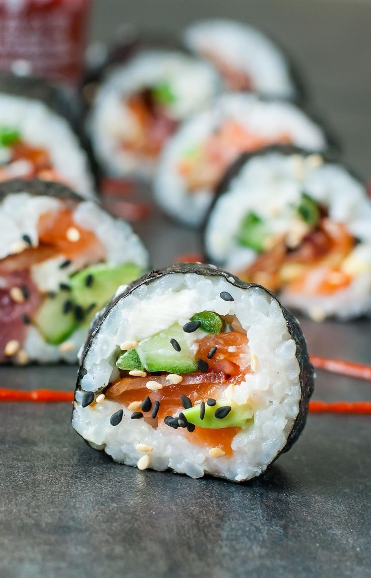 Homemade Sushi  These Bacon Avocado Sushi Rolls Are A Bit Unconventional  But So Insanely