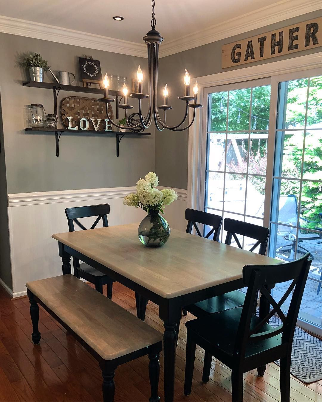 Good morning and happy monday we have another rainy day here  for the gym some school shopping  think enjoy your  also rustic dining rooms that will make farmhouse shine rh pinterest