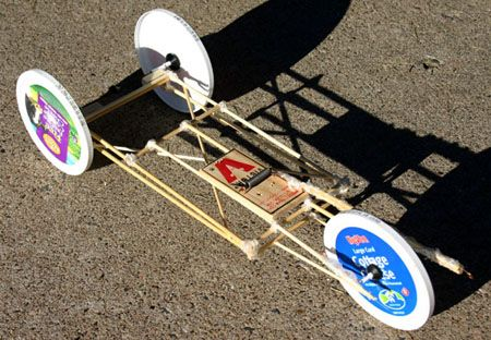 Very Simple Mouse Trap Cars With Findable Materials Mouse Trap
