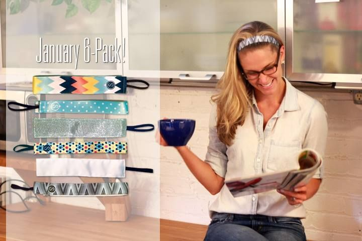 Our January 6-Pack Special is here! Look hot while rocking these icy cool styles, on sale all month long | www.sweatybands.com