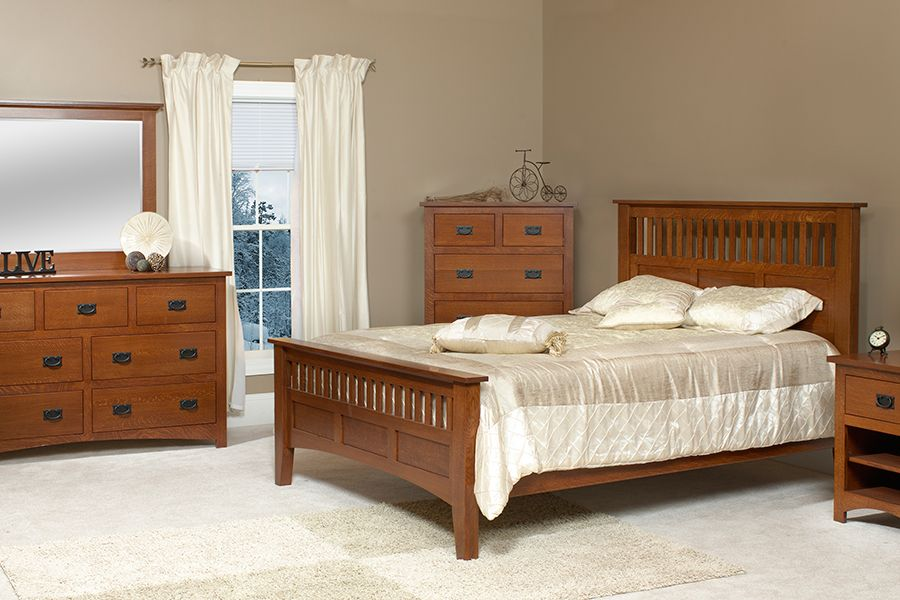 Mission Siesta Bedroom Collection Amish Furniture Columbus And
