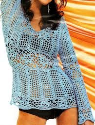 Resultado de imagen para patrones gratis blusas crochet