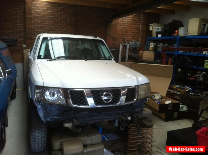 Nissan Gu Patrol Race Car Project Suit Finke Safari Or Comp