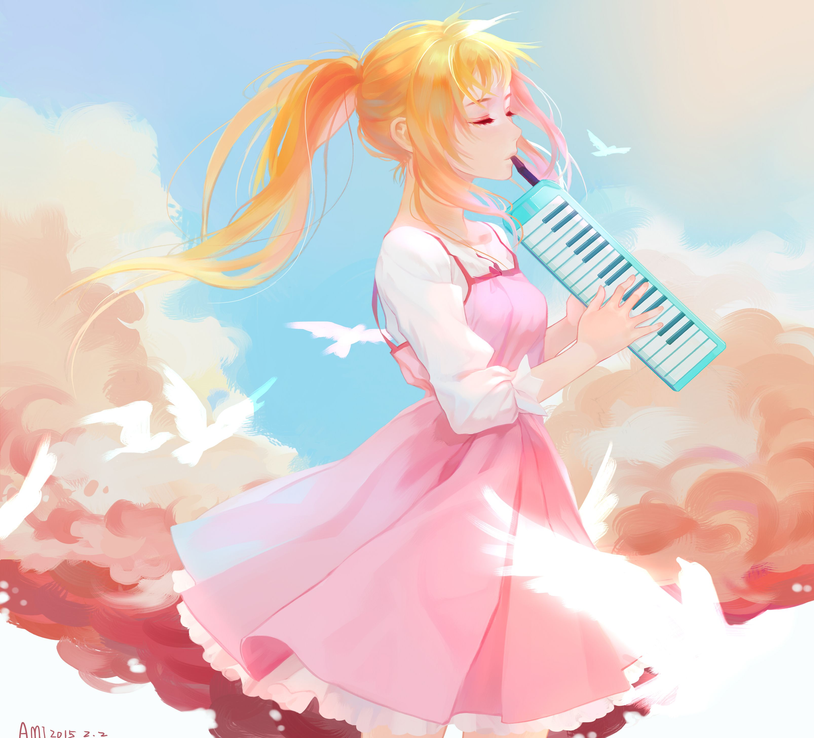 Anime Your Lie In April Kaori Miyazono Wallpaper Your Lie In