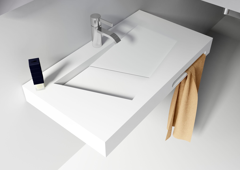 Solid surface solutions wastafel sanso met kraangat