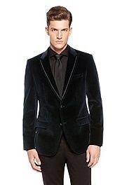 'Harford' | Slim Fit, Velvet Sport Coat #bossblack