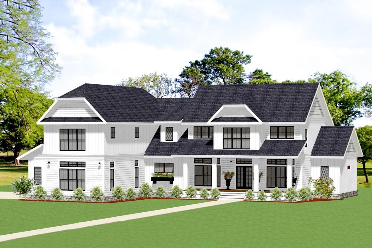 This familyfriendly, Modern Farmhouse style, 2story