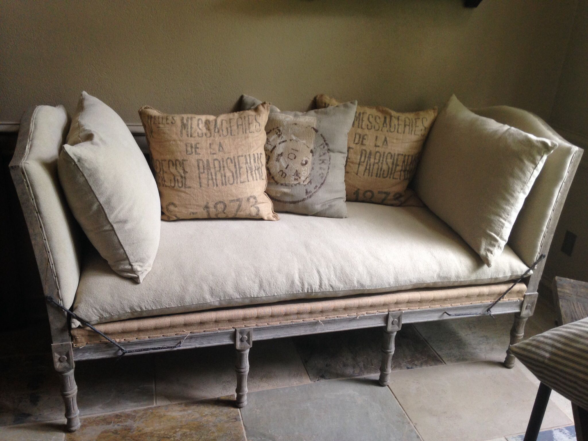 Deconstructed french daybed homegoods of the week
