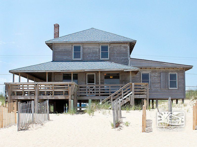 The Roaring 20 S 343 Oceanfront Exterior Outer Banks Vacation Rentals Outer Banks Vacation Outer Banks Rentals