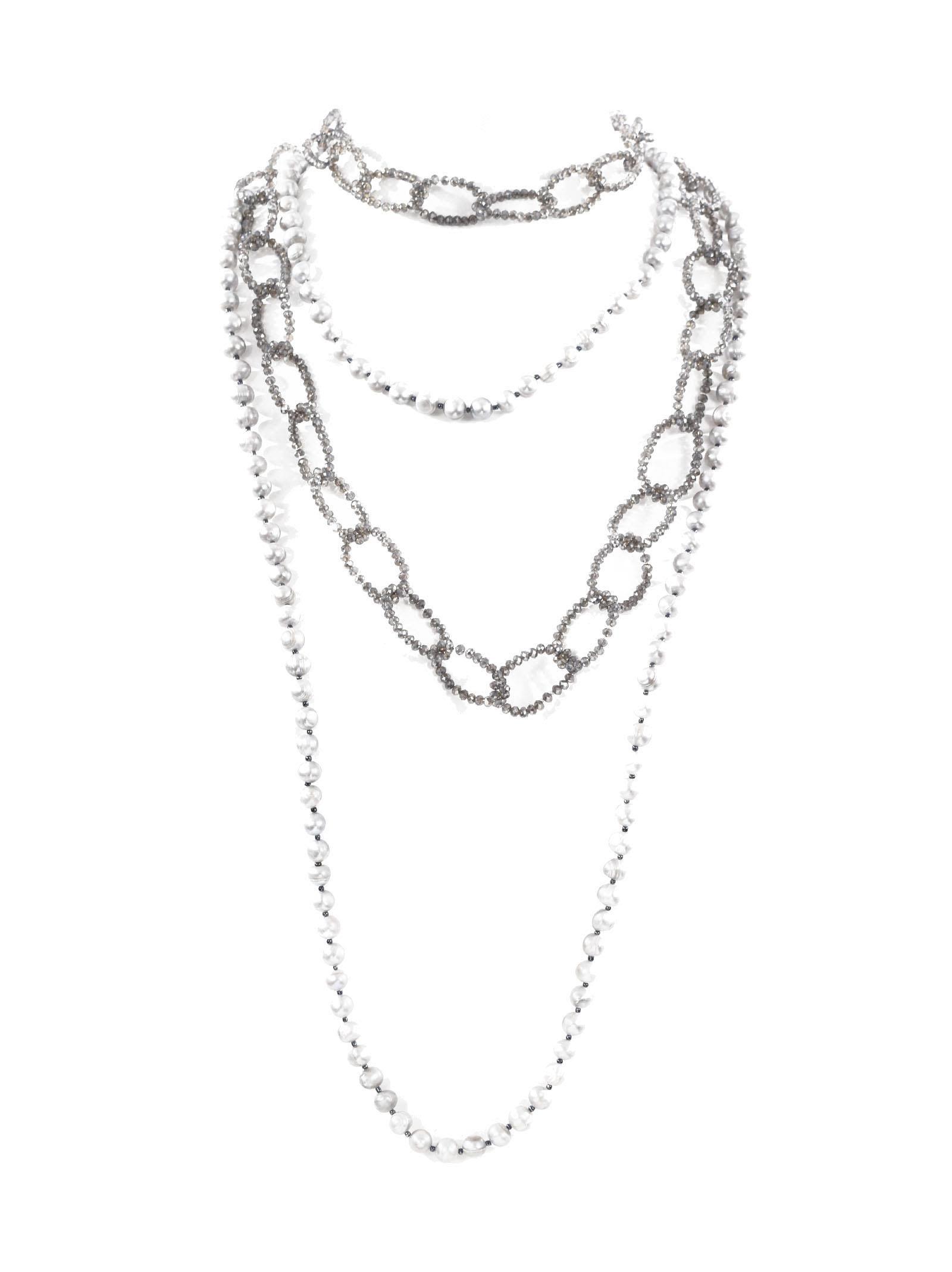 Collier De Perles - Marché De Nuit Blanche tfbIStfS8M