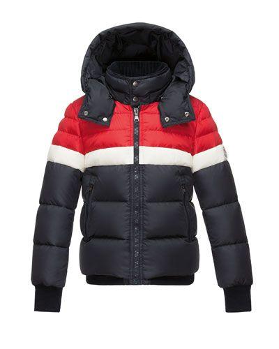a1353efd1329 K0DAV Moncler Aymond Hooded Colorblock Puffer Jacket