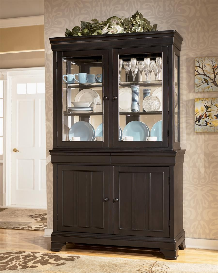 Ashley Furniture Louden China Cabinet In Our House Dining Room