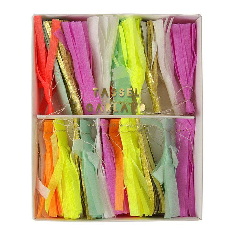 Meri Meri Stitched Neon Tassel Mini Garland.jpg