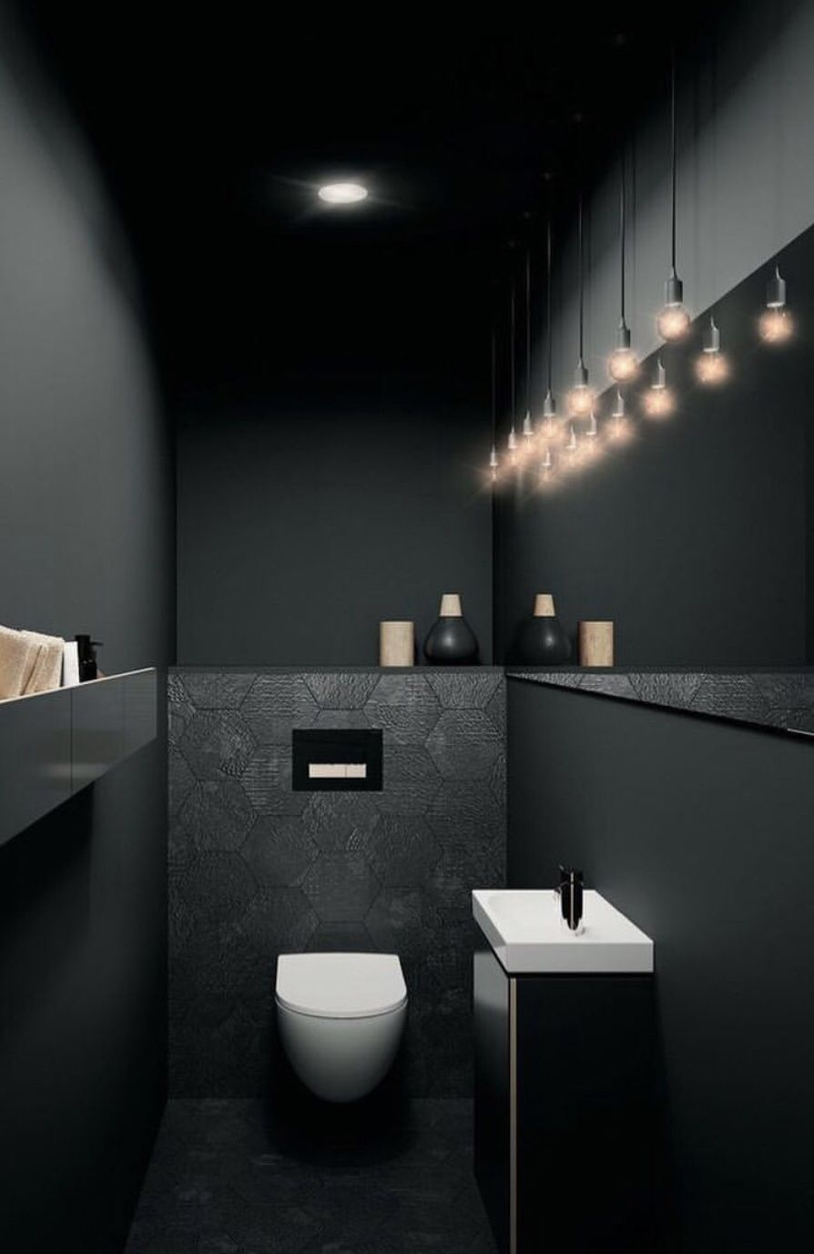 Pin By O L G A A V I L A On H O M E D E C O R Toilet Design Bathroom Interior Wc Design