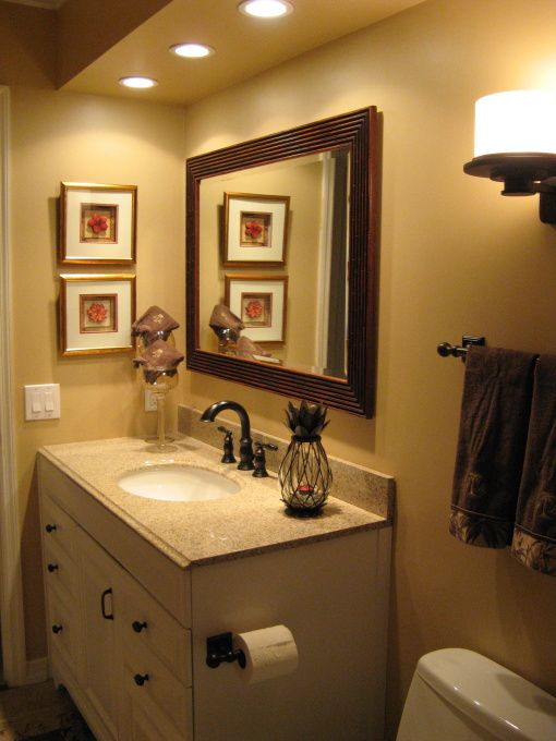 Guest Bathroom Decorating Ideas | , Tommy Bahama, This Is Our Tommy Bahama  Themed Decor