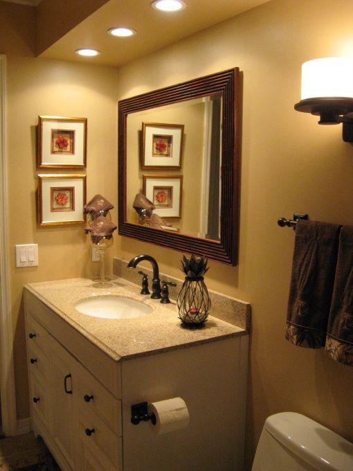 Tropical Tommy Bahama Guest Bathroom Decor Bathroom Decor