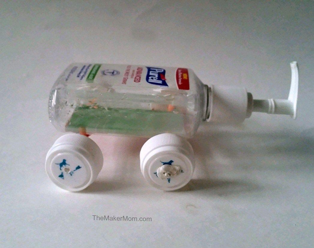 Build A Plastic Bottle Toy Car Diy Toys Car Plastic Bottles