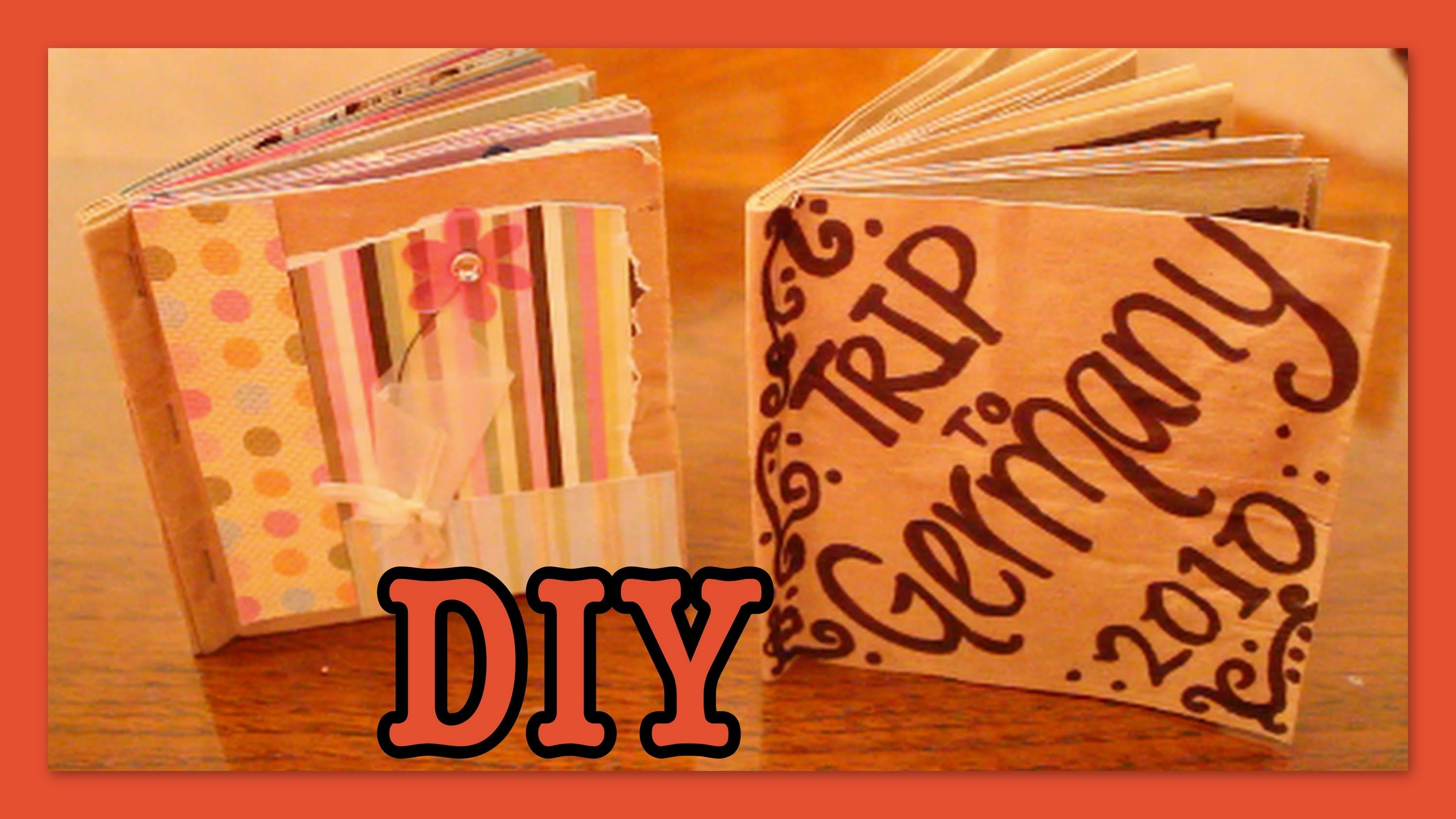 DIY: Brown Bag Album / Scrapbook