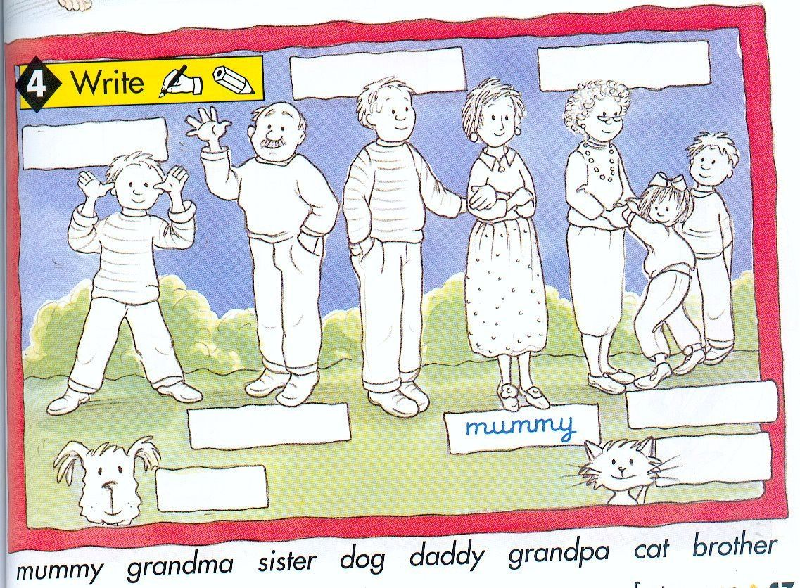 Ingles Familia 3