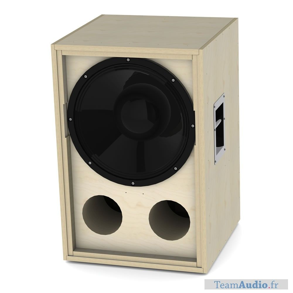 medium resolution of 18 inch bass reflex flat pack tlhp cf 18 with speaker celestion cf18vjd 8 ohm 1600 watts aes bandwith 30 to 1000 hz designed for professional