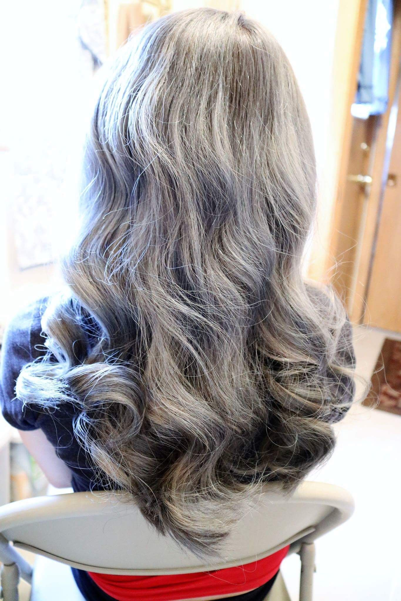 How To Get Gray Or Silver Hair With Wella Cooling Violet You Can