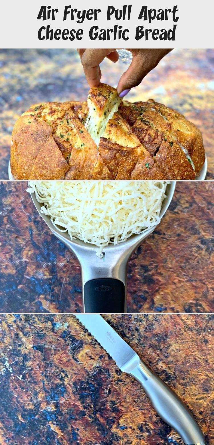 Air Fryer Pull Apart Cheese Garlic Bread, 2020