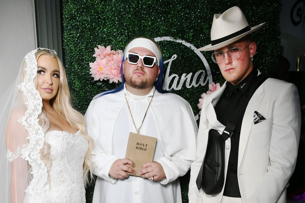 Jake Paul and Tana Mongeau's overthetop 'wedding' is